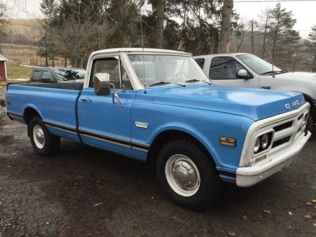 1972 gmc 3 4 ton truck classic gmc sierra 2500 1972 for sale. Black Bedroom Furniture Sets. Home Design Ideas