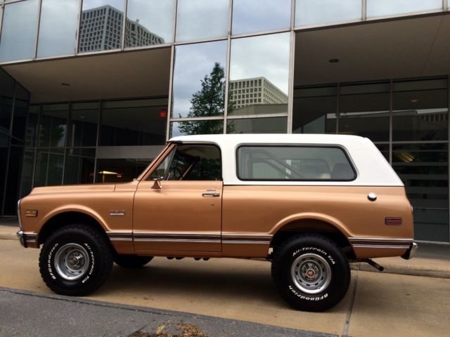 1972 GMC Jimmy Cheyenne 2 Door SUV 4X4 - Classic Chevrolet ...