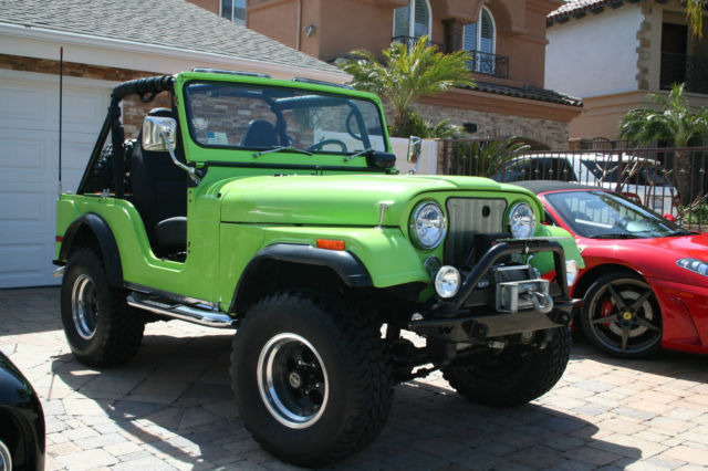 Outstanding 1972 Jeep Cj5 Base Sport Utility 2 Door 5 7 L Classic Jeep Cj 5 Wiring Cloud Peadfoxcilixyz