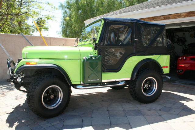 Fabulous 1972 Jeep Cj5 Base Sport Utility 2 Door 5 7 L Classic Jeep Cj 5 Wiring Cloud Peadfoxcilixyz