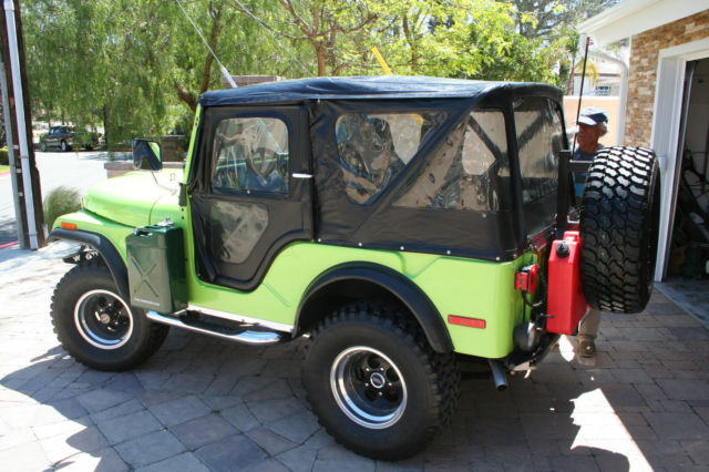 Fantastic 1972 Jeep Cj5 Base Sport Utility 2 Door 5 7 L Classic Jeep Cj 5 Wiring Cloud Peadfoxcilixyz