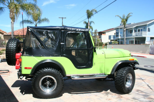 Awesome 1972 Jeep Cj5 Base Sport Utility 2 Door 5 7 L Classic Jeep Cj 5 Wiring Cloud Peadfoxcilixyz