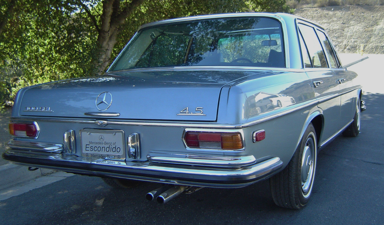 1972 mercedes benz 300 sel 4 5 w109 classic mercedes for 1972 mercedes benz