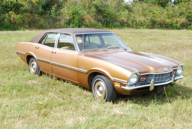 1972 Mercury Comet Classic 4 Door Sedan Oem Paint Motor