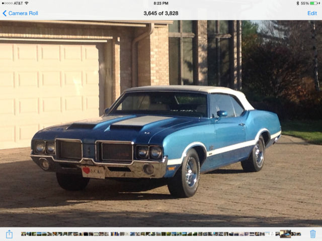 Used Cars Lansing Mi >> 1972 Oldsmobile 442 W30 convertible - Classic Oldsmobile