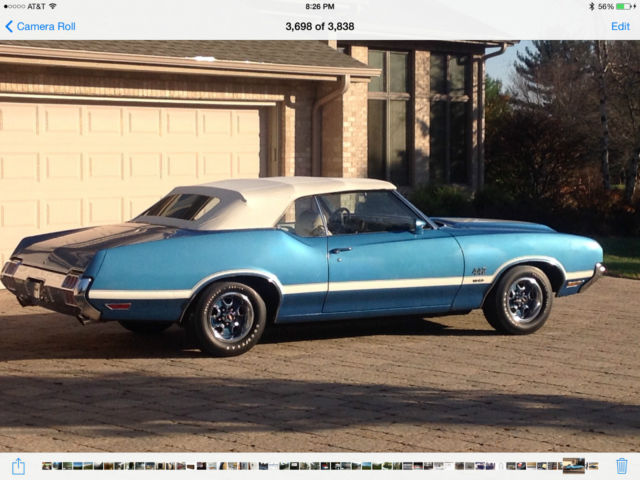 72 olds 442 w30 for sale and price conv