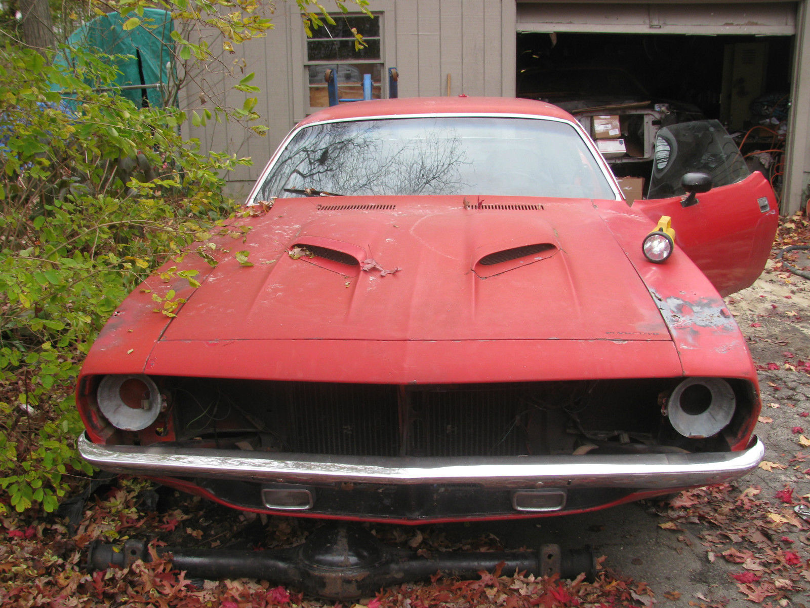 1972 plymouth cuda 340 4 speed project - Classic Plymouth