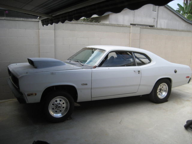 1972 Plymouth Duster Drag Car Classic Plymouth Duster
