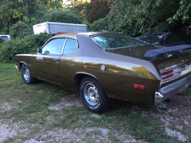 1972 Plymouth Duster *gold duster * - Classic Plymouth ...