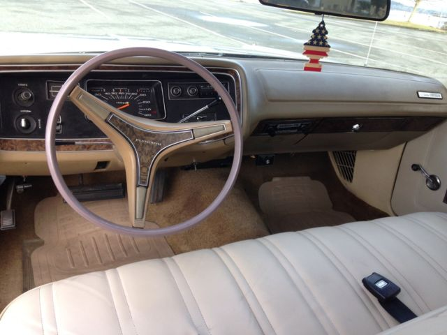 1972 Plymouth Fury Custom Suburban Station Wagon 60k