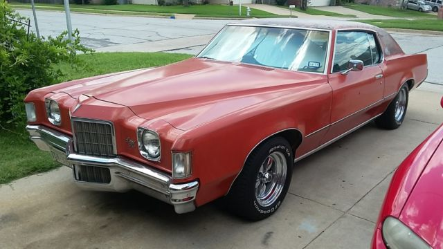 Sundance Used Cars >> 1972 Pontiac Grand Prix 72 GP J model 400 / 400 - Classic ...