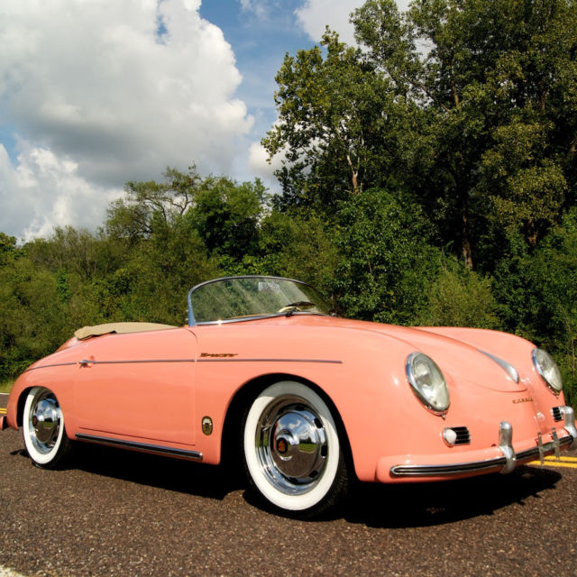 1972 Porsche 356 Speedster Replica 1600 Cc Engine 4