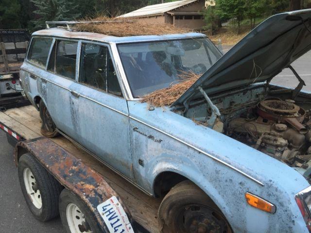 1972 Toyota Corona Mark 2 station wagon project / parts ...