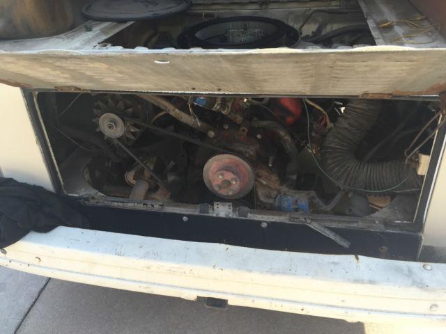 Volkswagen Vw Camper Van Mustang V Engine Conversion Speed Kombi