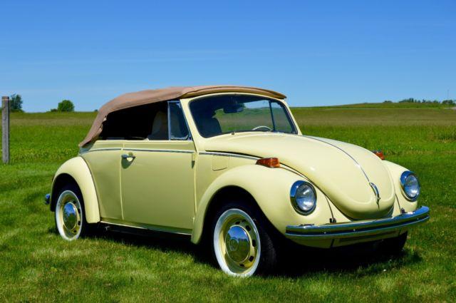 1972 vw beetle convertible 90 restored classic volkswagen beetle classic 1972 for sale. Black Bedroom Furniture Sets. Home Design Ideas