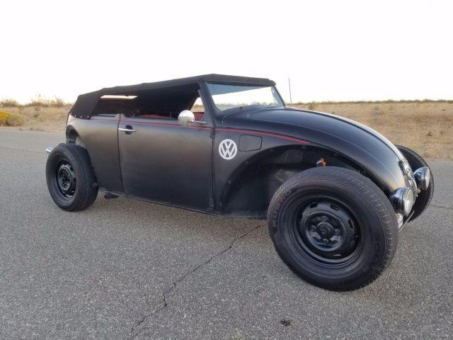 vw bug rat dub ratrod custom bug removable top southern california classic volkswagen