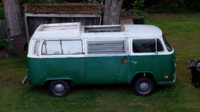 1972? VW Bus, Westfalia, no camper interior, running ...