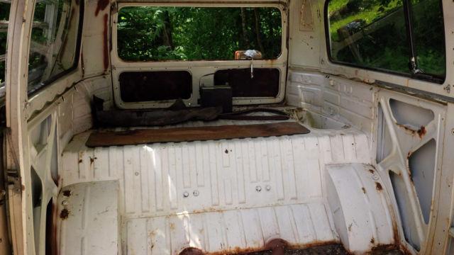 1972? VW Bus, Westfalia, no camper interior, running ...