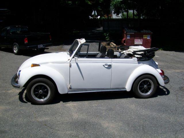 1972 Vw Convertible Bug Classic Volkswagen Beetle