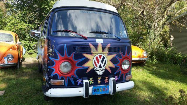 1972 VW Volkswagen Grateful Dead Westfalia Camper Bus