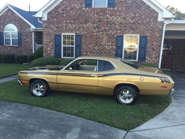 1973 340 duster build sheet dana rear end tremic 5 speed classic plymouth duster 1973 for sale. Black Bedroom Furniture Sets. Home Design Ideas