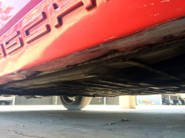 Venice Beach Huntington Red Car  S