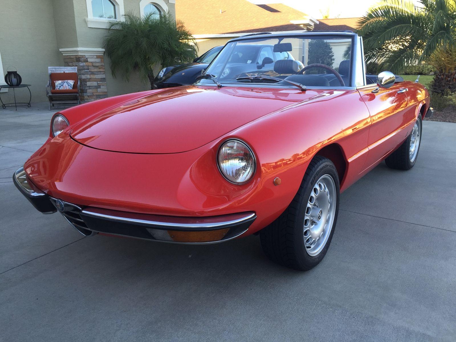 1973 alfa romeo spider fantastic condition rare euro model w duetto details classic alfa. Black Bedroom Furniture Sets. Home Design Ideas