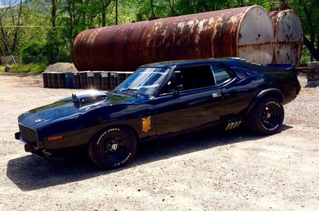 Mad Max Car For Sale >> 1973 AMC Javelin AMX Mad Max/Road Warrior Interceptor tribute car - Classic AMC Javelin 1973 for ...