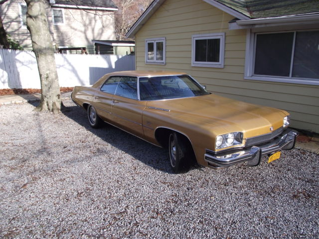 Nj Vehicle Inspection >> 1973 Buick LeSabre Base Hardtop 4-Door,455-v8,16k original ...