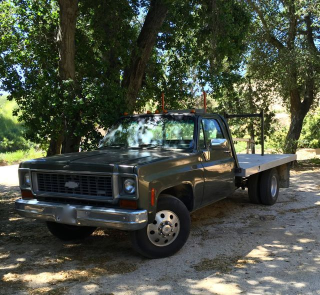 1973 C-30 One Owner, No rust, 1-Ton, Dually, Flatbed, Gas V