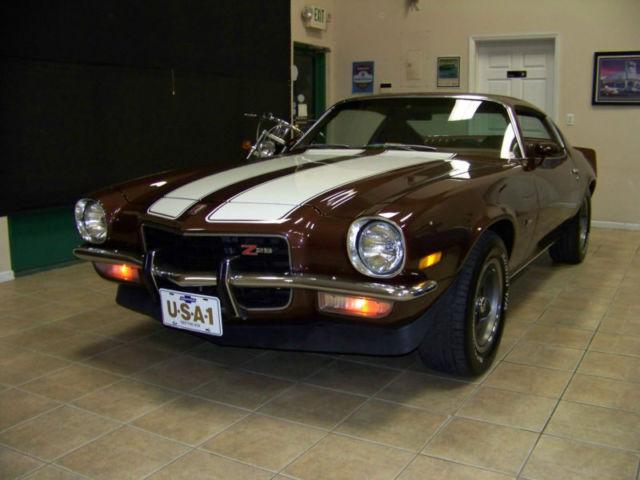 1973 Camaro Genuine Z28  Matching Numbers