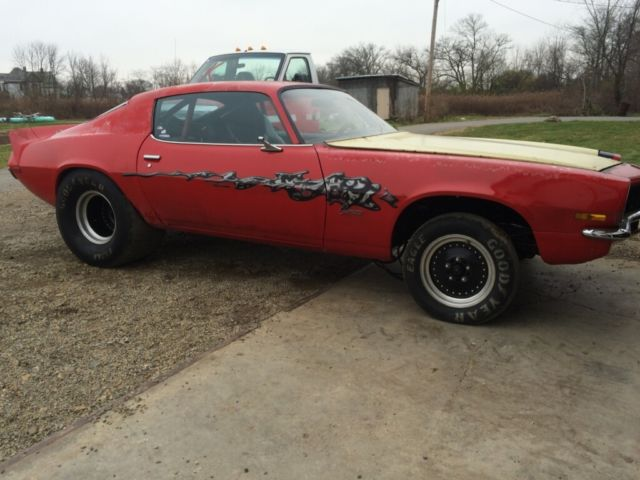 1973 Camaro Tubbed Pro Street Drag Car Project Rolling