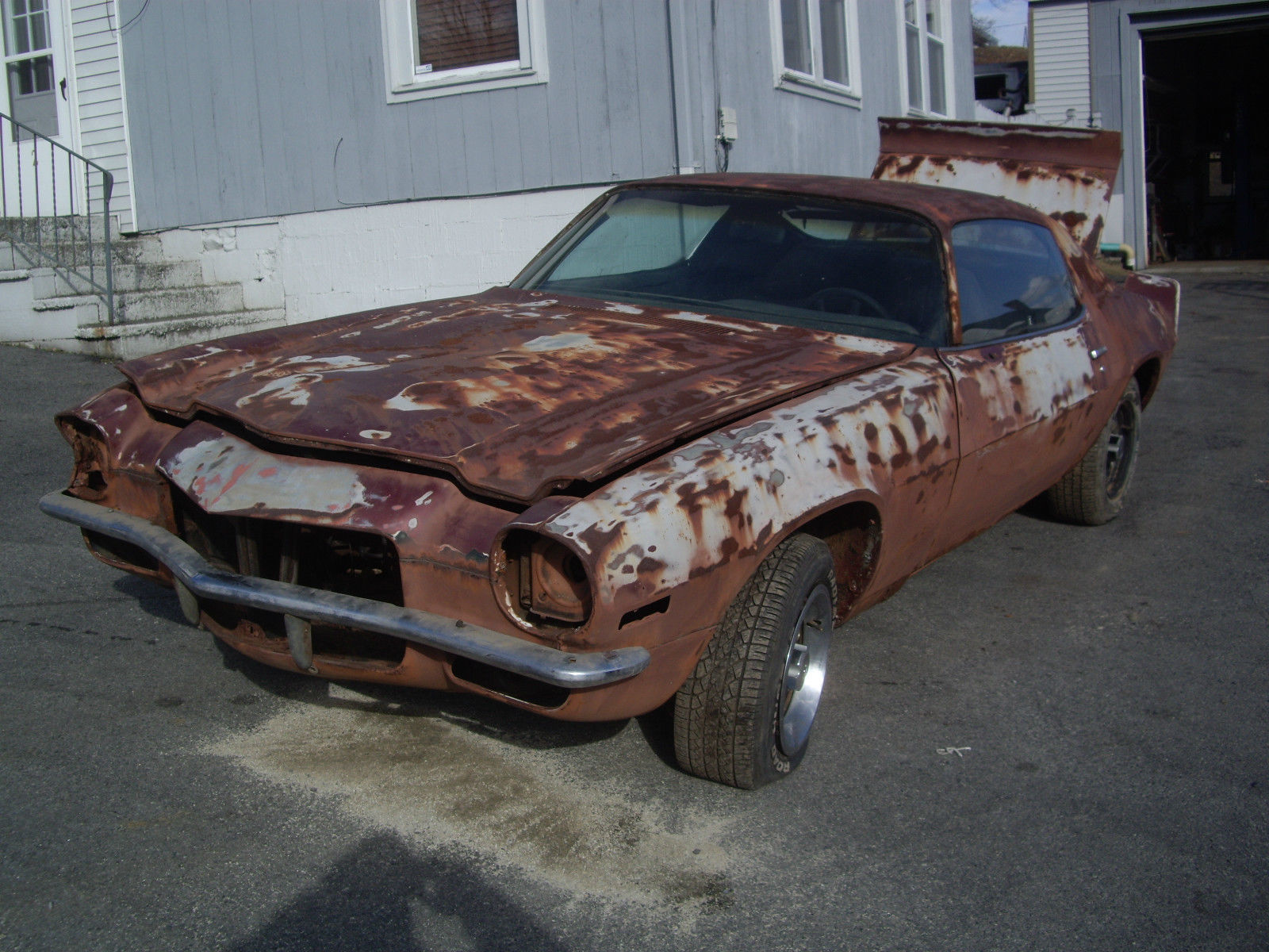 1973 Camaro Type LT Z28 350 4 Speed Numbers Matching Barn Find Project Car