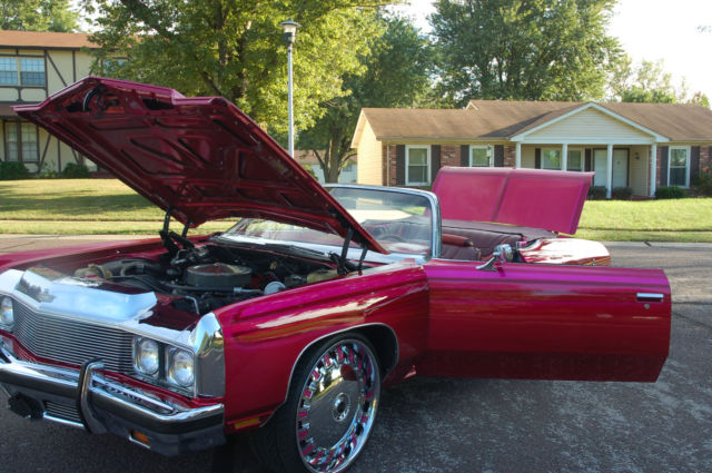 1973 CAPRICE CONVERTIBLE DONK,KANDY,DUBS,454,SOUNDS,LOWRIDER