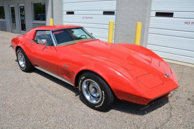 1973 chevrolet corvette ls4 454 big block ac 4 speed. Black Bedroom Furniture Sets. Home Design Ideas