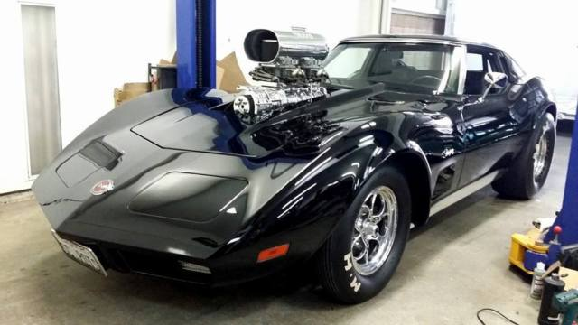 C3 Corvette Custom Interior >> 1973 Chevrolet Corvette Pro Street Custom - Classic ...