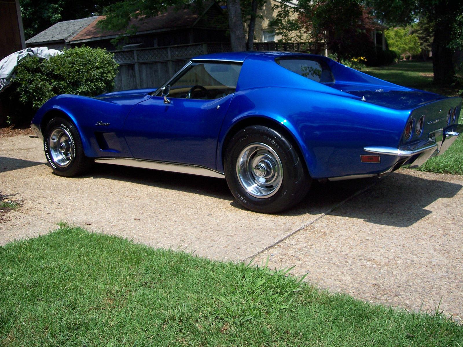 1973 Chevrolet Corvette Stingray T Top Built 350 Motor