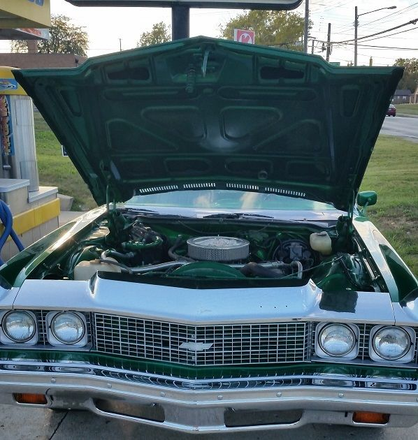 1973 chevrolet impala candy green 26 inch lexani custom stereo interior classic. Black Bedroom Furniture Sets. Home Design Ideas