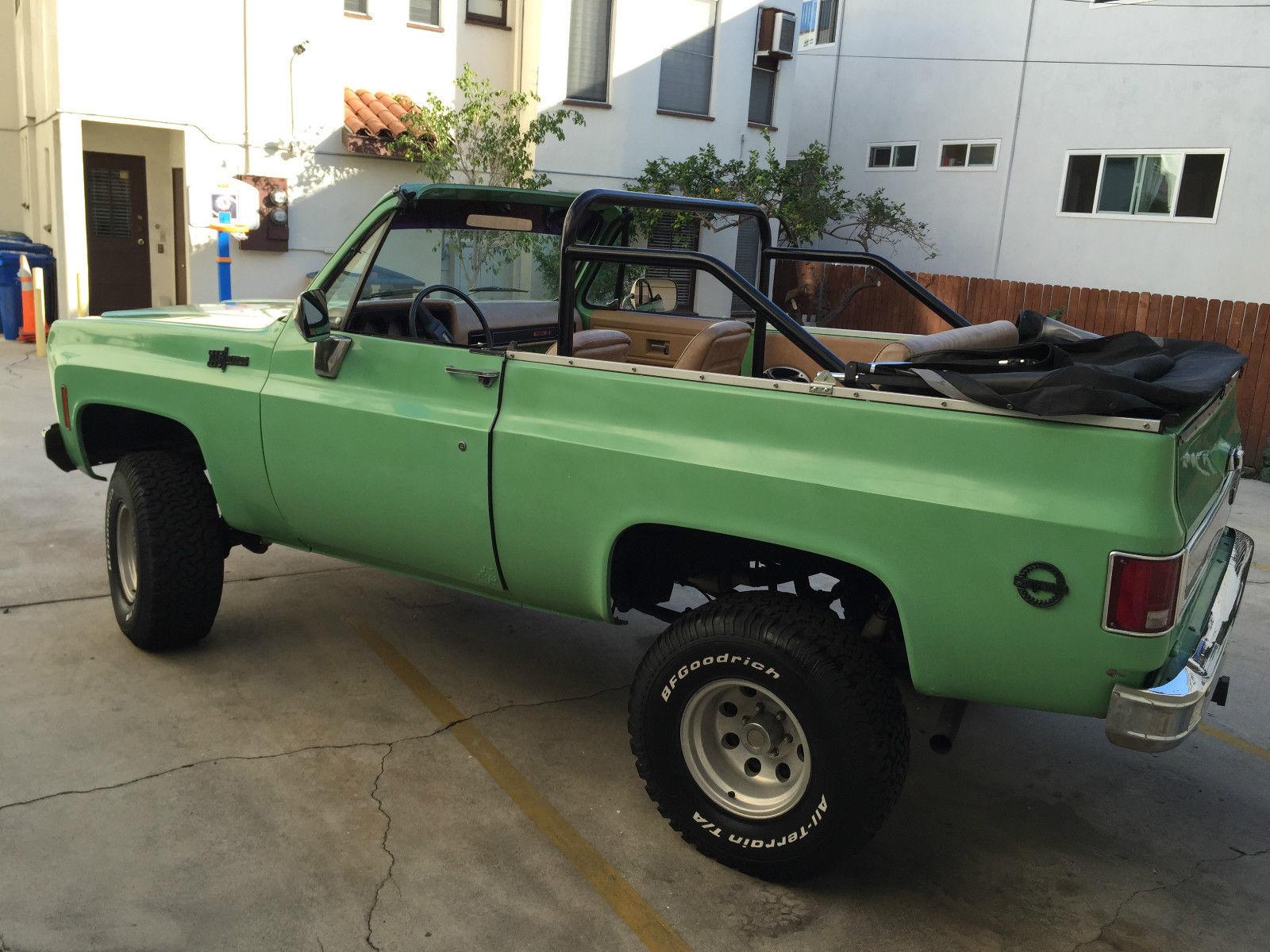 Chevy K5 Blazer For Sale >> ***1973 Chevrolet K5 Blazer 4x4 Convertible SUV - NO ...