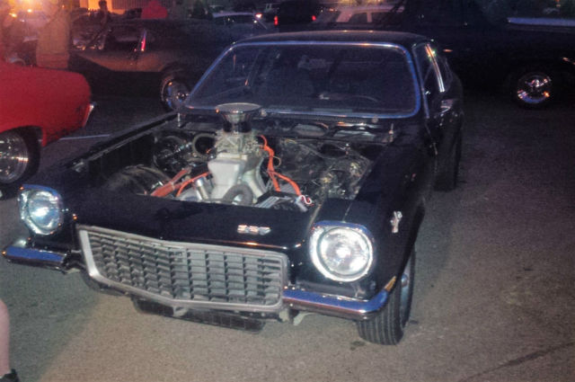 1973 Chevrolet V8 Vega Gt Chevy Hot Rat Rod Muscle Car Z28 Ss 327 Gt Classic Chevrolet Vega