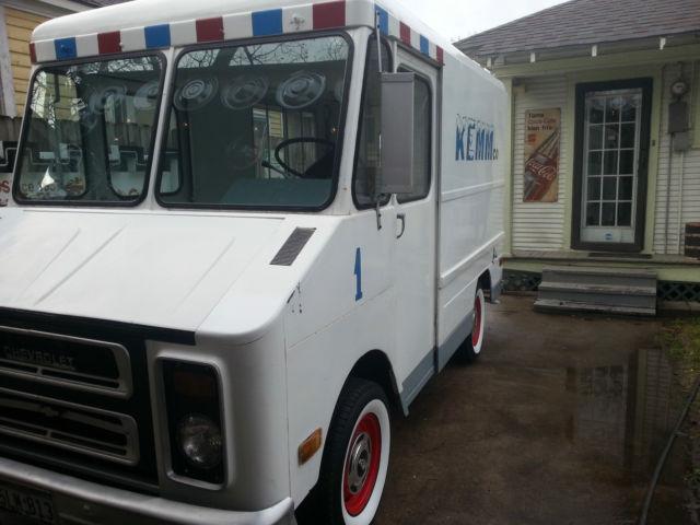Ice Cream Truck For Sale >> 1973 CHEVY P10 STEP VAN ICE CREAM TRUCK L@@k!!! - Classic Chevrolet P10 STEP VAN 1973 for sale