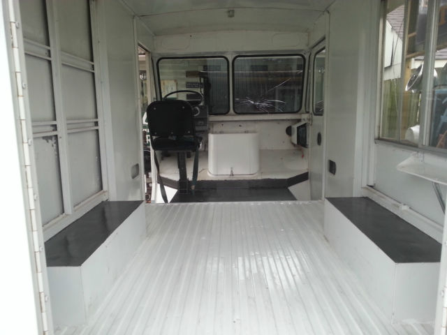 1973 Chevy P10 Step Van Ice Cream Truck L K Classic