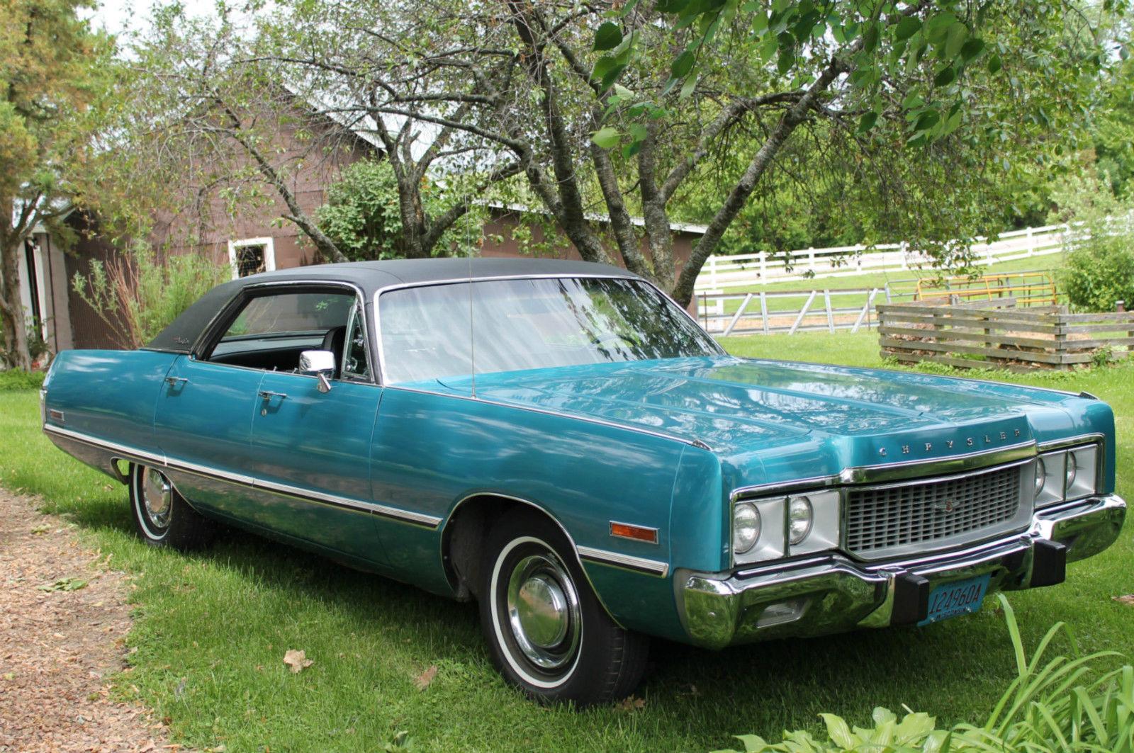 1973 Chrysler Newport Custom Original Survivor Classic