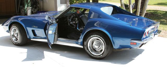 Corvette Stingray Coupe Blue Stick Shift Beautiful on Battery Kill Switch For Cars