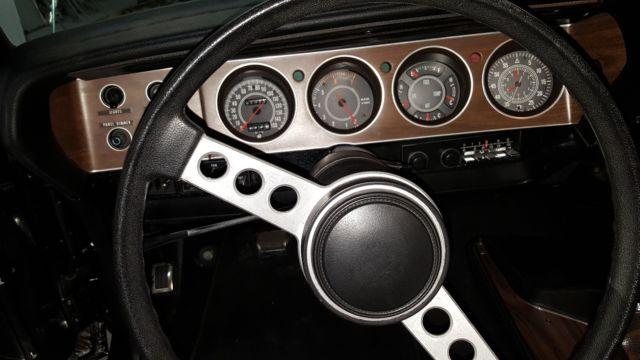 1973 Cuda 340 4 Speed Black White Top Fresh Restoration AC Rallye