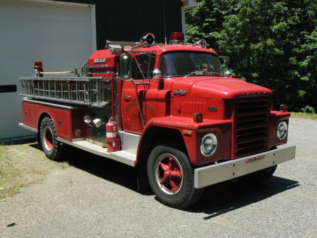 1973 dodge c 800 fire truck bean 4 guys low mileage great show truck classic dodge c. Black Bedroom Furniture Sets. Home Design Ideas