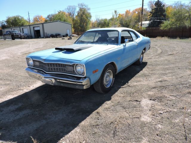 1973 dodge dart 340 sport with sunroof and fold down seat. Black Bedroom Furniture Sets. Home Design Ideas