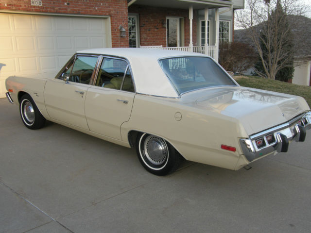 1973 Dodge Dart Custom Survivor No Rust All Original Stock ...