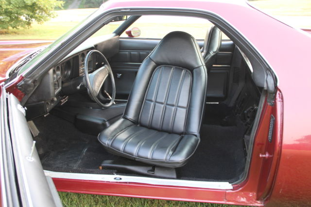 How To Make Car Seat Covers >> 1973 El Camino SS, 454,maroon in color, new seat covers ...