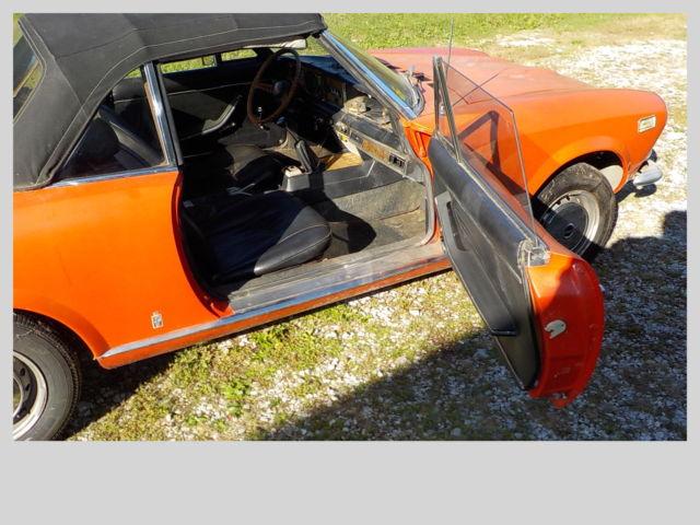Used Cars Cincinnati >> 1973 Fiat 124 Sport Convertible - Classic Fiat 124 Spider ...